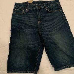 Boys polo jean shorts